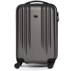 FERGÉ carry-on trolley Marseille -XB-06-20- suitcase hard-top case ABS - anthracite
