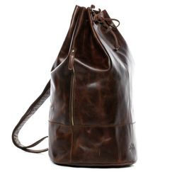 Sea Bag Kitbag HEATHROW Natural Leather