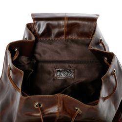 SID & VAIN XL Seesack HEATHROW Natur-Leder braun-cognac Matchsack Seesack 4