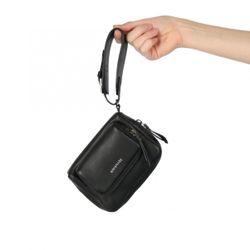 FEYNSINN Handegelenktasche JARA Männertasche S Glattleder Handtaschenhalter Herrentasche Herrenhandtasche 3