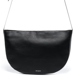 FEYNSINN shoulder bag ILVY -1459- handbag SMOOTH leather - black