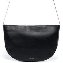 FEYNSINN sac porté à l'épaule ILVY Sac bandoulière sac pour dames cuir XL noir