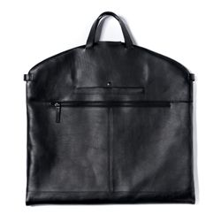 FEYNSINN suit carrier ARIK -1469- suit cover bag SMOOTH leather - black