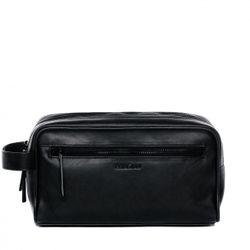 FEYNSINN Kulturtasche FRIIS Premium Smooth schwarz Kulturbeutel Kulturtasche 4