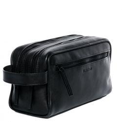 FEYNSINN Kulturtasche FRIIS Premium Smooth schwarz Kulturbeutel Kulturtasche 5