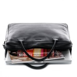 FEYNSINN Laptoptasche FINN Premium Smooth schwarz Businesstasche Laptoptasche 4