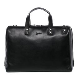 BACCINI laptop bag VIVI -1621- business bag SMOOTH leather - black