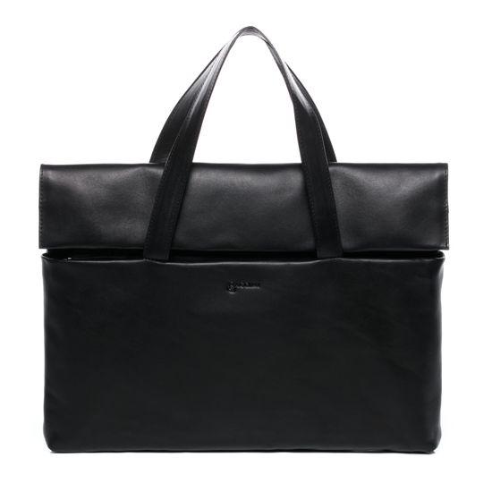 BACCINI Laptoptasche Echtleder VITO schwarz Businesstasche 15 | Taschen > Businesstaschen > Aktentaschen | BACCINI