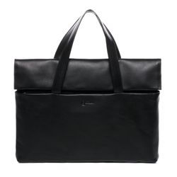 BACCINI laptop bag VITO -1622- business bag SMOOTH leather - black