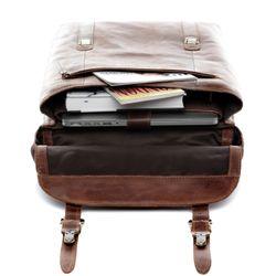 SID & VAIN XL Rucksack ETON Natur-Leder braun-cognac Backpack Tagesrucksack Kurierrucksack Fahrradrucksack Rucksack 6