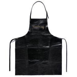 SID & VAIN Lederschürze HEATHROW Premium Smooth schwarz Grillschürze Lederschürze 4