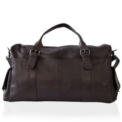 FEYNSINN travel bag ASHTON -105- weekender SMOOTH leather - brown