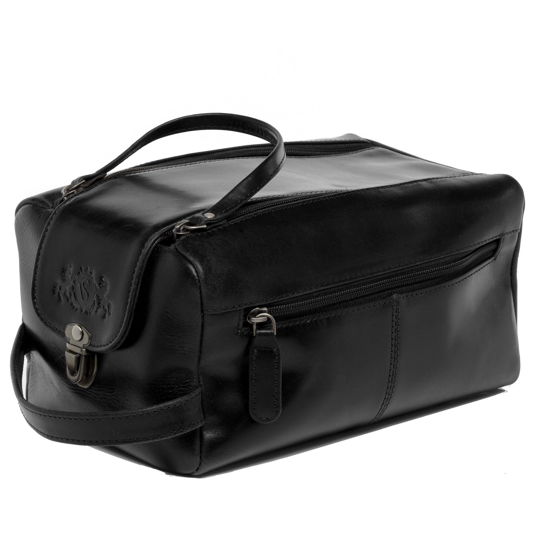 63e365864389 wash bag BRISTOL Smooth Leather