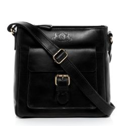 shoulder bag & cross-body bag YALE Smooth Leather