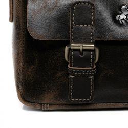 SID & VAIN Messenger bag YALE Umhängetasche M Distressed Leder Umhängetasche Messenger Laptoptasche 2