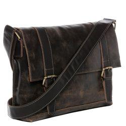 BACCINI Messenger bag LEON Distressed Vintage Distressed-Braun Laptoptasche Messenger bag 2