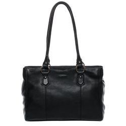 BACCINI tote bag & shoulder bag NOELL -2020- handbag COLUMBIA-NAPPA leather - black