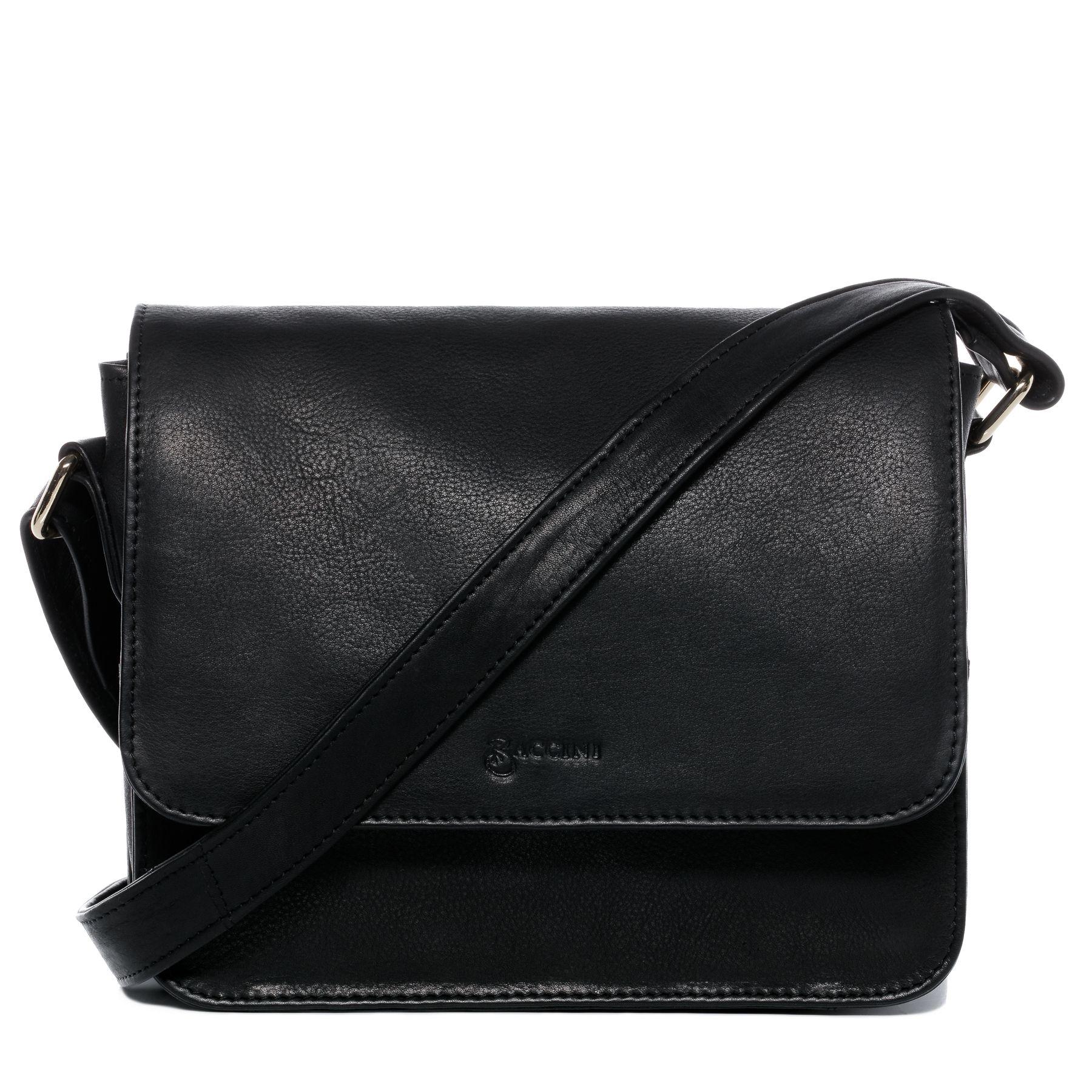 10f1765449c BACCINI shoulder bag & cross-body bag Nappa Leather EMMA black tote ...