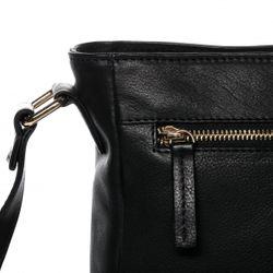BACCINI Schultertasche Soft Nappa schwarz Handtasche Schultergurt Schultertasche 3