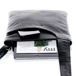 BACCINI Umhängetasche ELI Handtasche mit Schultergurt S Nappa-Leder Umhängetasche Messenger Schultertasche 6