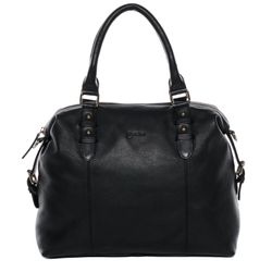 BACCINI tote bag & cross-body bag NOEMA -2024- handbag COLUMBIA-NAPPA leather - black