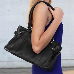 BACCINI Handtasche mit langen Henkeln NOEMI Schultertasche M Nappa-Leder Reise-Henkeltasche 5