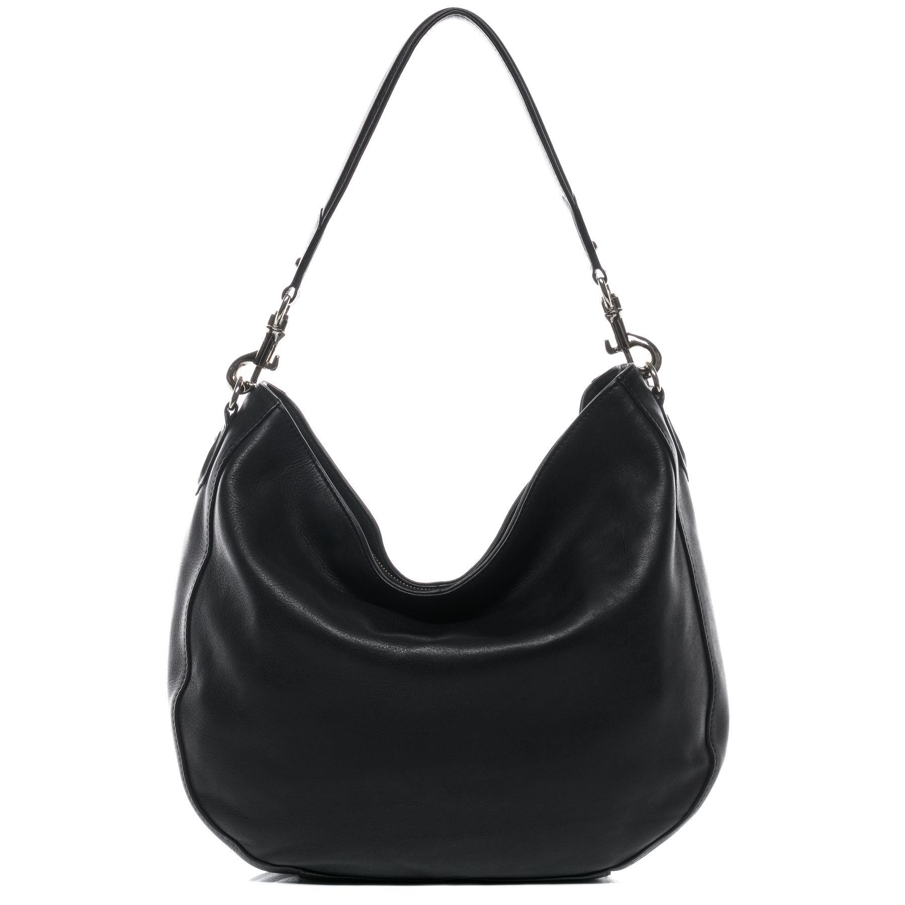 hobo sac femme épaule cuir Sacs sacoche main noir porté à Sacs sac fourre tout BACCINI 1twBfTqn1