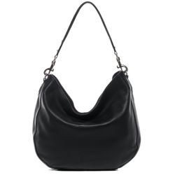 BACCINI hobo bag NELA -2026- shoulder bag COLUMBIA-NAPPA leather - black