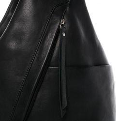 BACCINI Stadt-Rucksack EMILIA Soft Nappa schwarz Backpack Tagesrucksack Stadtrucksack Rucksack 4