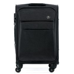 FERGÉ Kofferset 3-teilig leicht Calais Trolley-Stoffkoffer 3 Größen Nylon Koffer-Set Leicht 3er Weichschalenkoffer Set 4 Komfortrollen (360°) 4