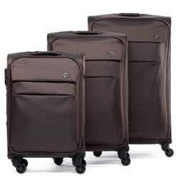 luggage set 3 piece Calais Nylon 5