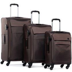 luggage set 3 piece Calais Nylon
