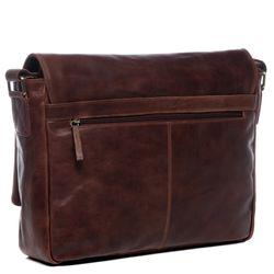 SID & VAIN Messenger Bag Natur-Leder vintage-braun Businesstasche Laptoptasche Messenger Bag 3