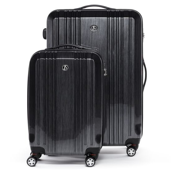 FERGÉ 2er Kofferset Handgepäck + XL Hartschale CANNES Koffer 4 Rollen graphite   Taschen > Koffer & Trolleys > Sonstige Koffer   FERGÉ