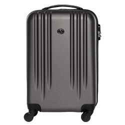 FERGÉ carry-on - carry-on - XB-06-20 - Marseille antracite-emboss ABS
