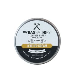 MYBAGFACTORY cream zilver cream Leather