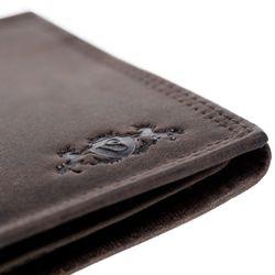 SID & VAIN Geldbeutel Büffelleder braun Brieftasche Geldbeutel 4