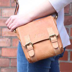 messenger bag KERBY Natural Leather 5
