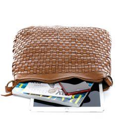 BACCINI Beuteltasche Washed Leder camel-beige Hobo Bag Beuteltasche 5