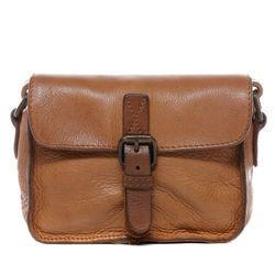 BACCINI shoulder bag DARIA - KX-5 - handbag SMOOTH leather - tan brown