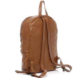 BACCINI Rucksack Washed Leder camel-beige Backpack Tagesrucksack Kurierrucksack Rucksack 3