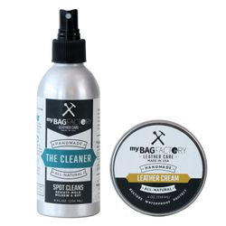 MYBAGFACTORY Leathercleaner + Cream zilver leathercleaner+cream Leather