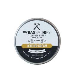 MYBAGFACTORY Leder Cleaner & Cream Leather Silver Metal Optik Ledercreme Lederpflege 3