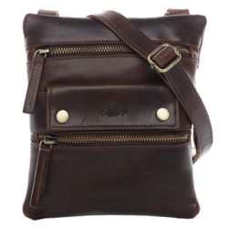 SID & VAIN cross-body-s -  - 2043 -  tan-cognac PULL-UP