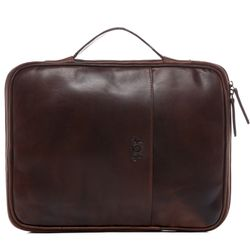 FEYNSINN Mac Air & A4 pouch -  - 2052 -  tan-cognac PULL-UP