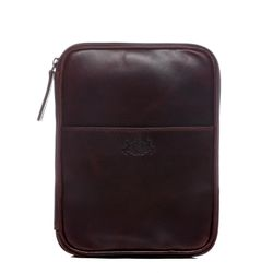 SID & VAIN Ipad & A5 pouch -  - 2053 -  tan-cognac PULL-UP