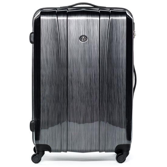 FERGÉ Handgepäck-Koffer Hartschale Dijon Kabinen-Trolley 4 Rollen graphite   Taschen > Koffer & Trolleys > Sonstige Koffer   FERGÉ