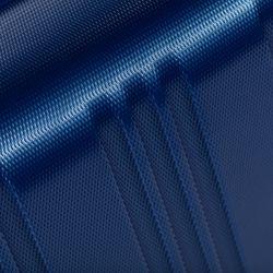 FERGÉ 3er Kofferset QUÉBEC ABS Dure-Flex royal-blau 3er Hartschalenkoffer Roll-Koffer 4 Rollen Kofferset Hartschale 3-teilig 4