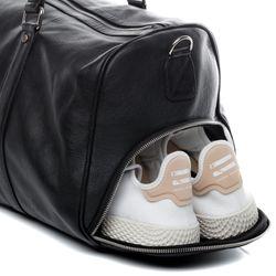 BACCINI Sporttasche FLORIAN EasyCare Nappa schwarz Reisetasche Sporttasche mit separatem Schuh-Fach Hemden 6