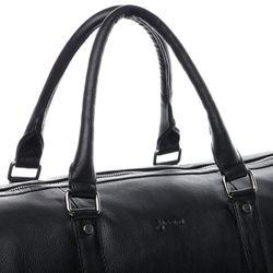BACCINI Sporttasche FLORIAN EasyCare Nappa schwarz Reisetasche Sporttasche mit separatem Schuh-Fach Hemden 8